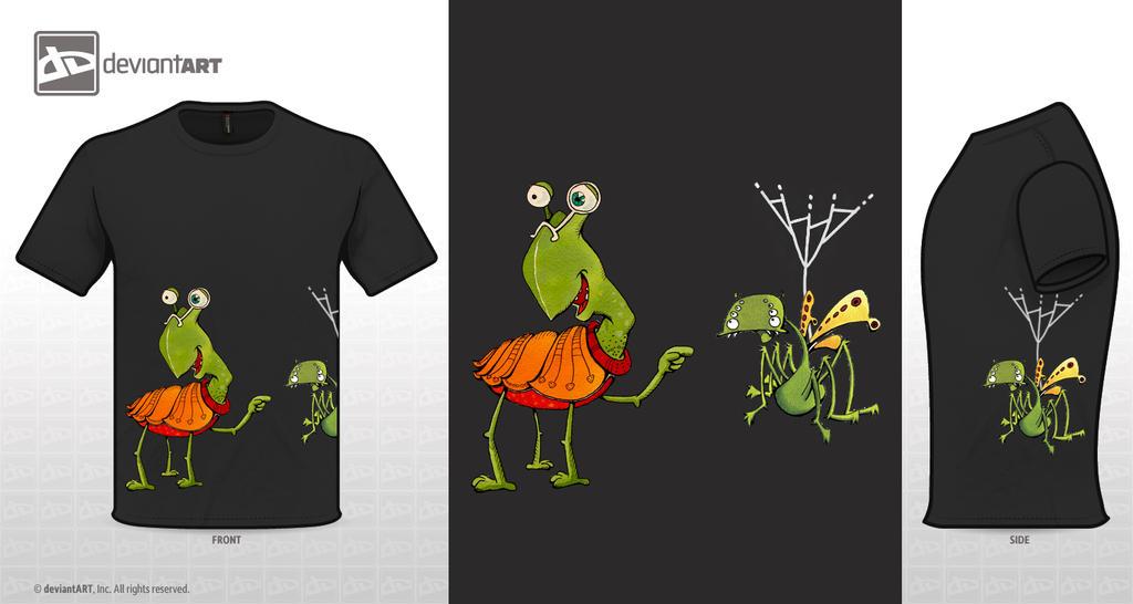 T-Shirt spidofly 2 by sara-nmt