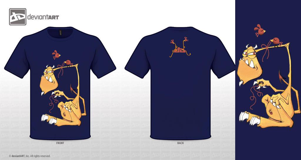 T-shirt Beelzebub by sara-nmt