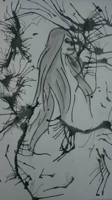 Splatter Woman