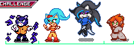 Process of the Challenge: My OC vs Your's by SonicZetrex