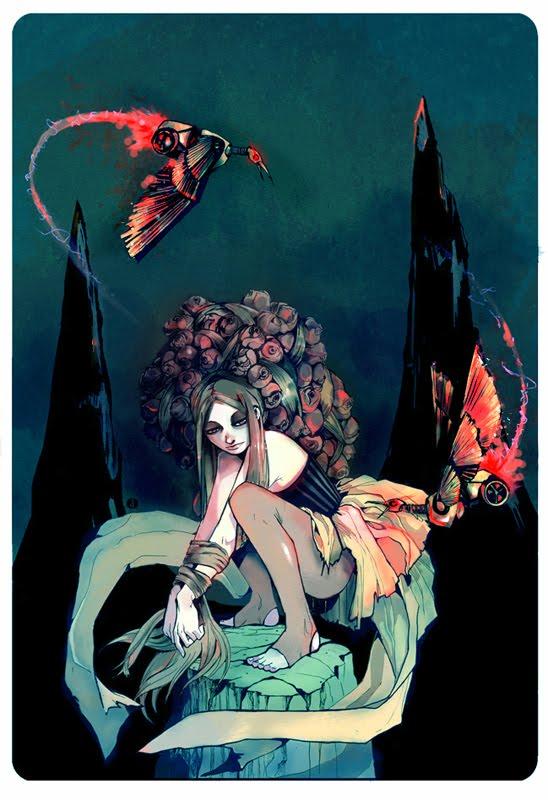 The Last Rose Bush by Derrewyn