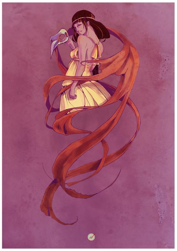 The 4th Priestess by Derrewyn