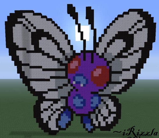 004 - Charmander (Minecraft Pixel Art) By Irizzla On Deviantart