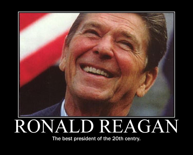 Ronald Reagan by Balddog4
