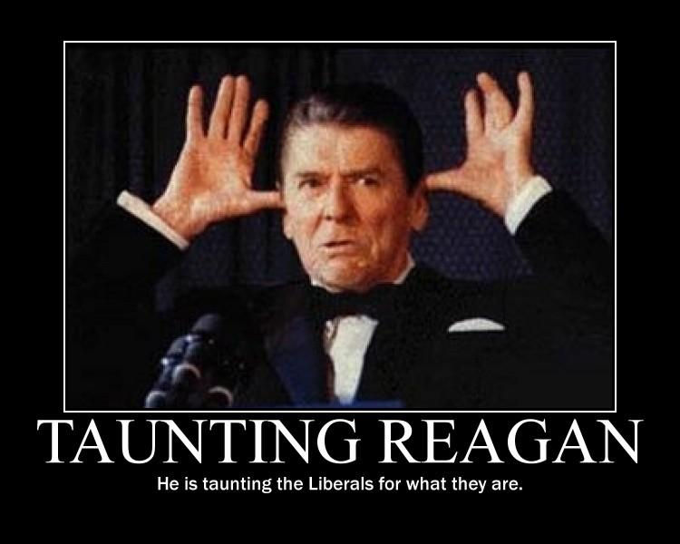 Taunting Reagan by Balddog4