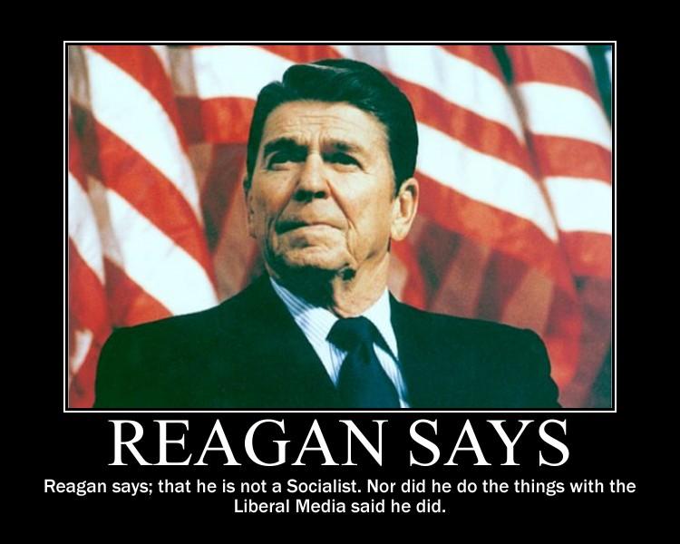 Reagan Says... by Balddog4