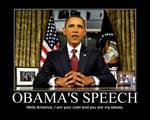 Obama's Speech by Balddog4