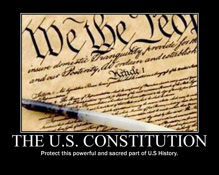 The U.S Constitution by Balddog4