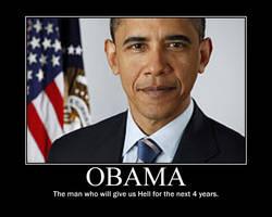 Obama: The Devil by Balddog4