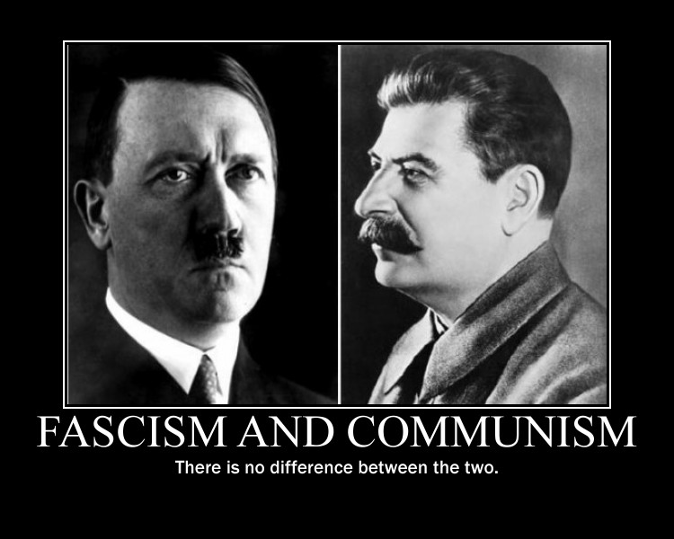 Difference Between Communism and fascism