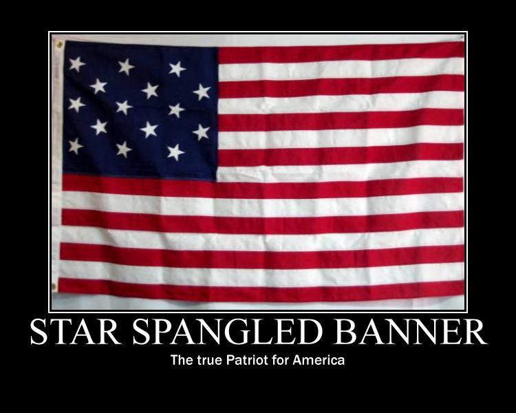 the star spangled benner as an american patriotic symbol