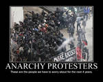 Anarchy Protesters