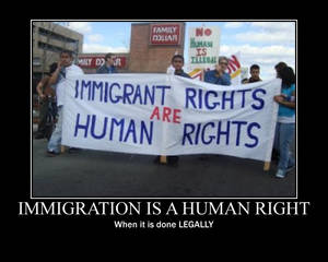 Immigration is a Human right