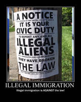 Illegal immigration by Balddog4