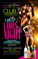 Club Waterloo's Ladies Night