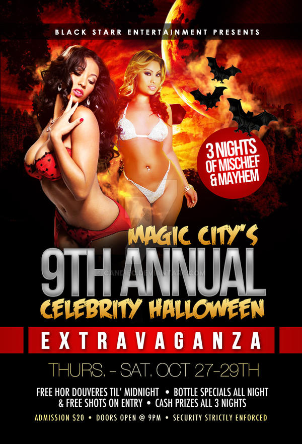 Halloween Party Flyer by CandieC on DeviantArt – Halloween Party Flyer
