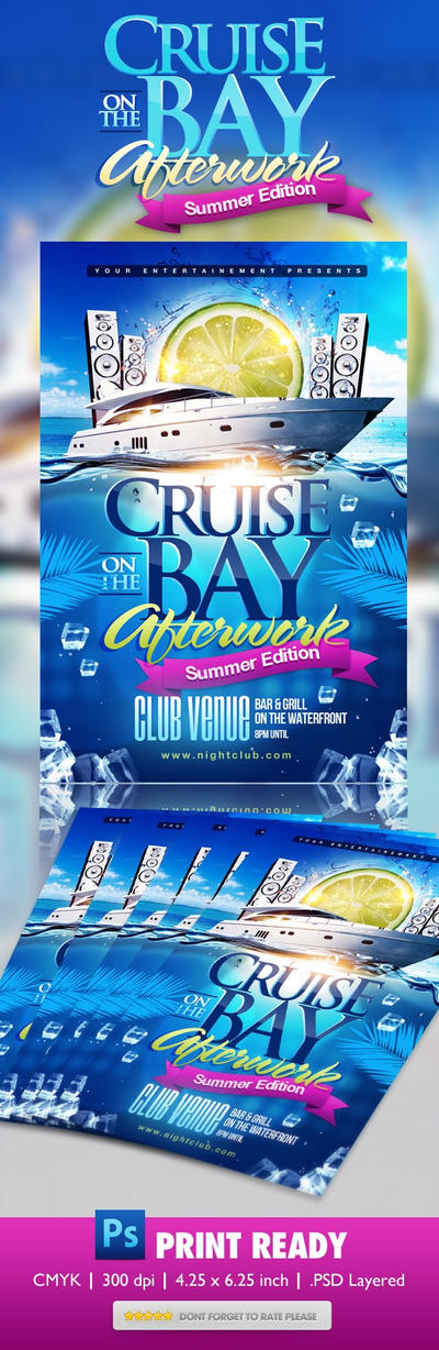 Cruise On The Bay Psd Template By Candiec On Deviantart