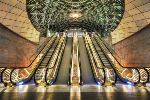Triangeln Station.