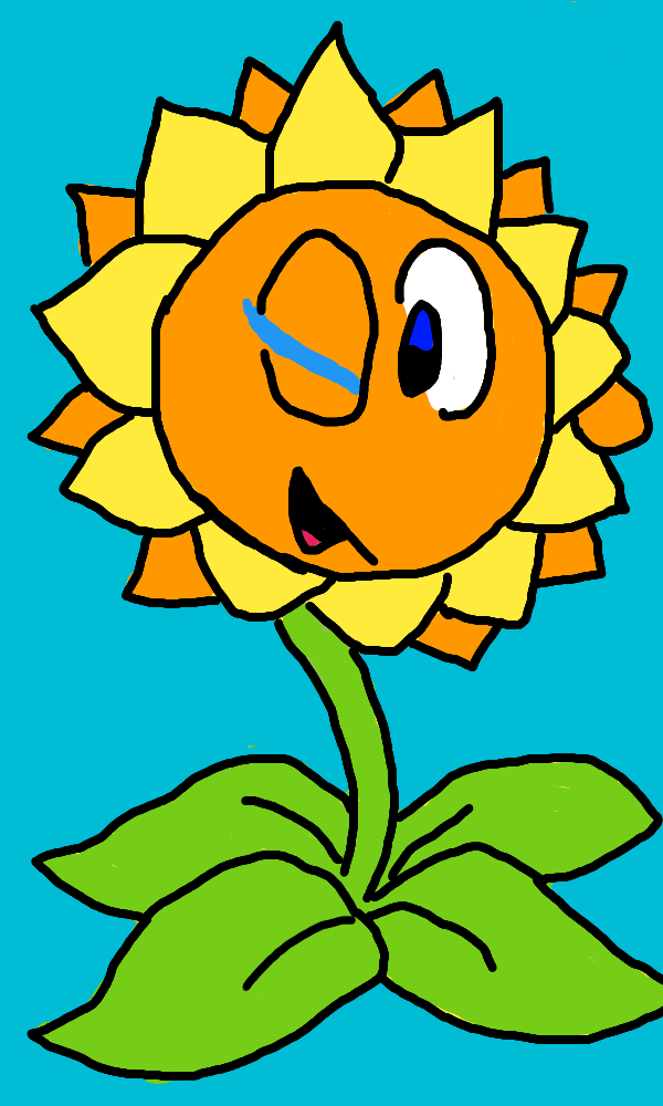 Sunflower gift by halolocke