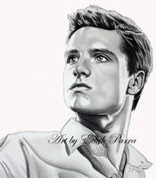 Peeta as victor of District Twelve by scoobylady