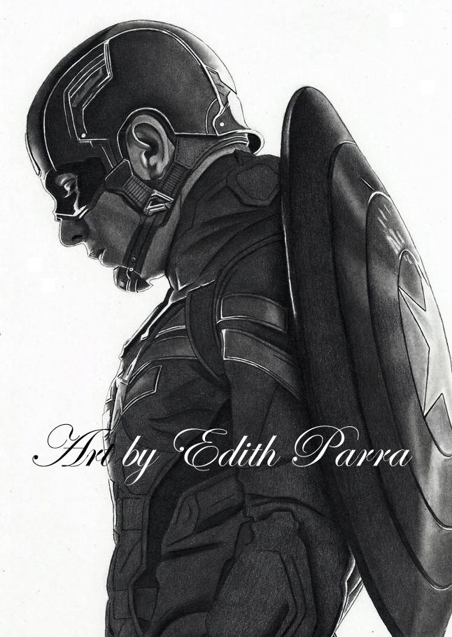 Captain America by scoobylady