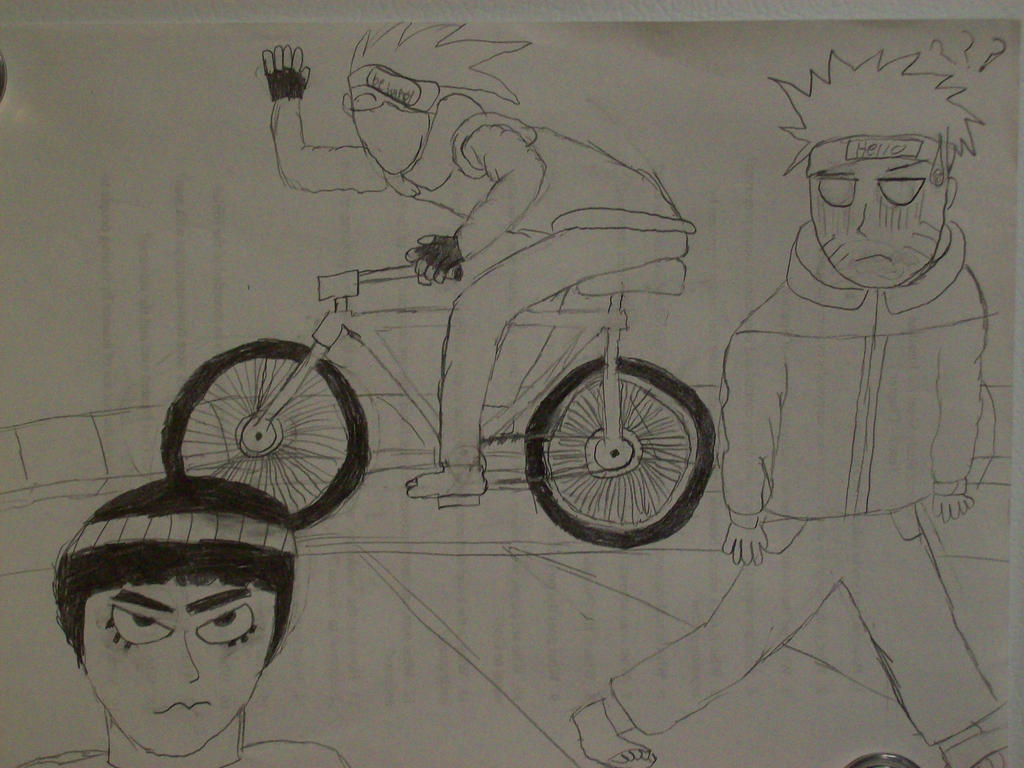 Kakashi's bike ride by TheGasMaster4381 on deviantART