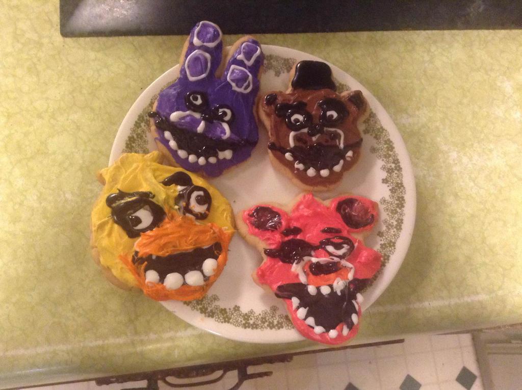 Freddy's Christmas cookies by TheGasMaster4381