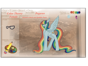 [OTNG] Color Theory Reference Sheet by ashyfur524