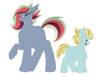 {Candyverse} Hard Rock and Daredevil by ashyfur524