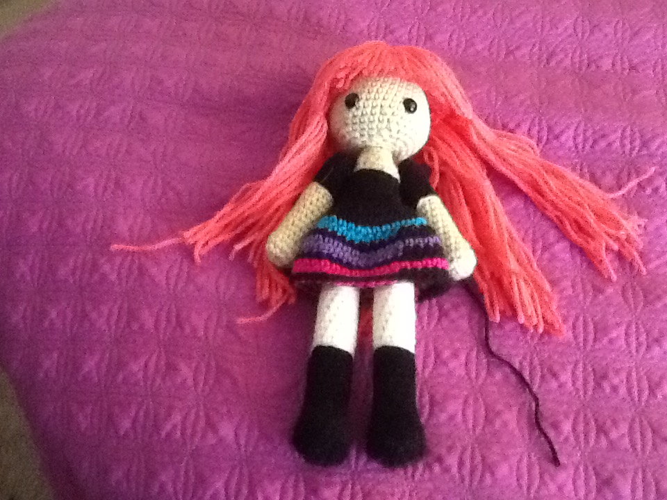 Amigurumi Doll Legs : Unfinished Amigurumi Doll by Nanaischaos on DeviantArt