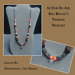 ActFurOnAir: Kell's Thinking Necklace by dragonjewels