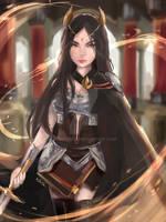 Fire Lord Azula by kooributa