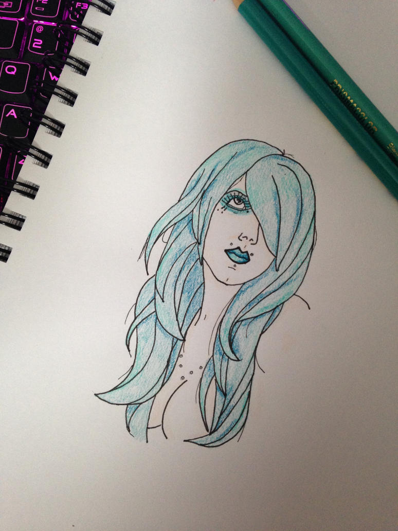 Turquoise Woman by tinakeightley