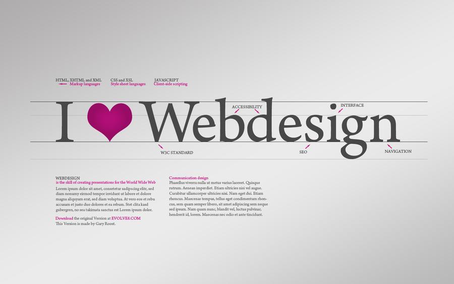 i love webdesign wallpaper by niacindes on deviantart