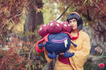 Gym leader Erika with Gloom cosplay