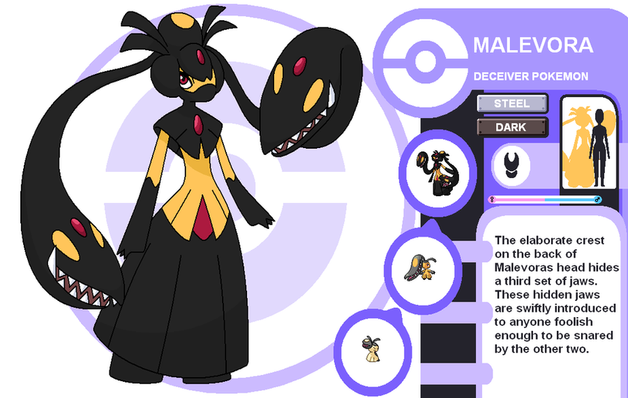 Malevora by cerulebell on deviantart - Evolution pokemon noir 2 ...