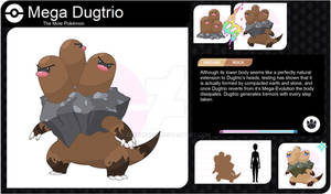 Mega Dugtrio