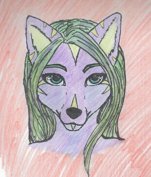 Sevani the Striped Fox by Catava