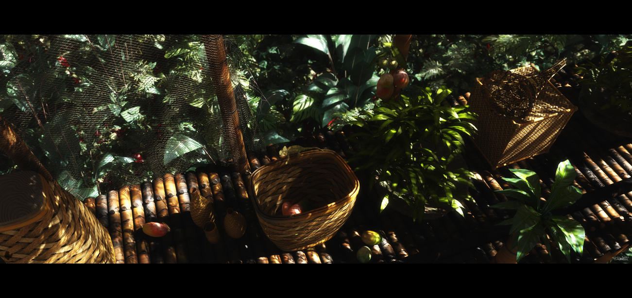 Jungle Highrise by barrymdesigns