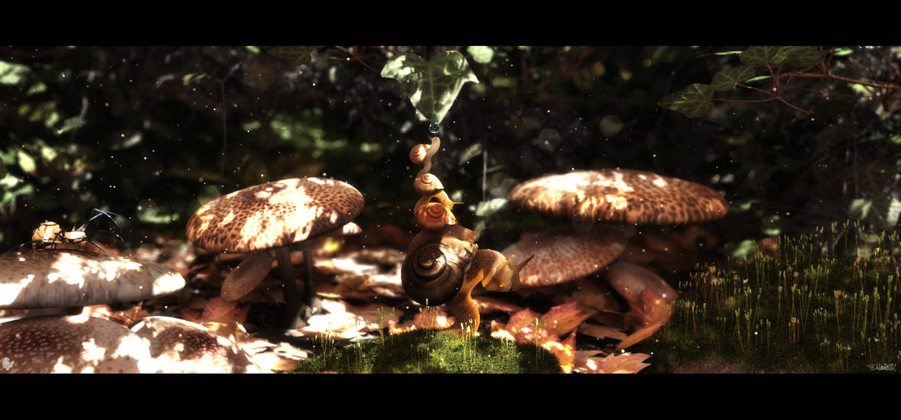 Snail Stack by barrymdesigns