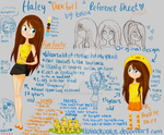 Duck Girl's Reference Sheet