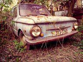 Soviet Zaporozhets car by mariakovalchuk