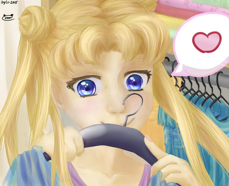 Line Art Anime : Sailor moon version no lineart by thepandaviking on deviantart
