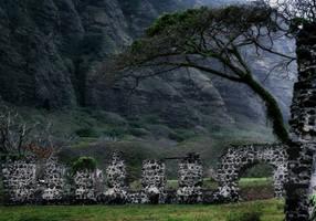 STOCK - Creepy Ruins by AmethystUnderwood