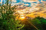 HDR Sunrise (La Castel-Iasi)