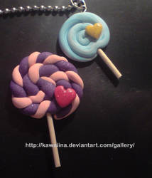 Lollipop charms by Kawaiina