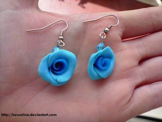 Rose azzurre by Kawaiina