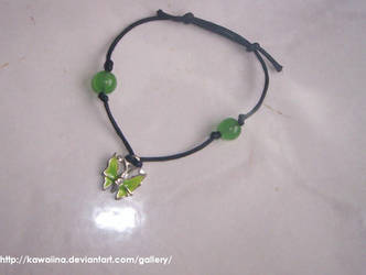 Bracciale verde by Kawaiina