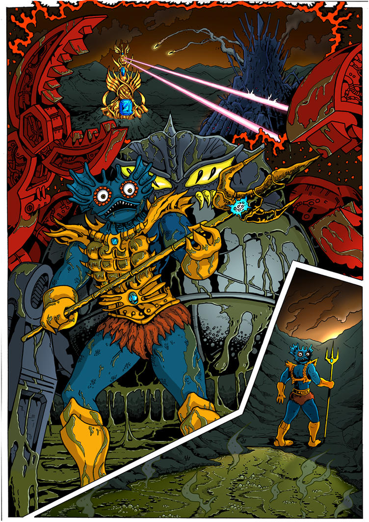 PoP/MotU - The Coming of the Towers - page 23 by SolarShine