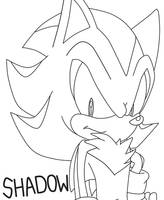 LineArt of Shadow by SonicForTheWin2